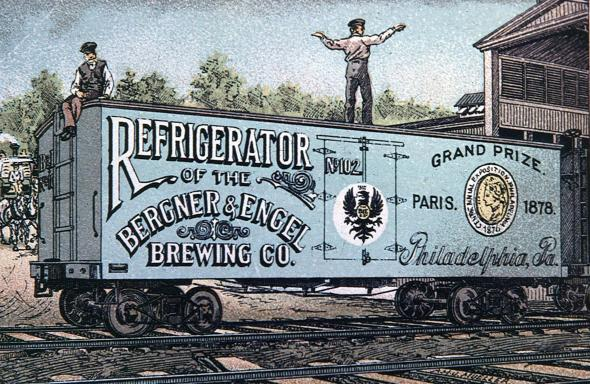 Bob's Icebox Repair - History - Refrigerated Railroad Car Photo